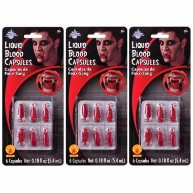 18x vloeibaar nepbloed capsules