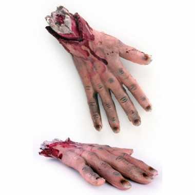 Halloween - afgehakte bloederige hand
