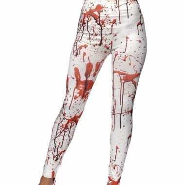Halloween - bloederige horror legging voor dames