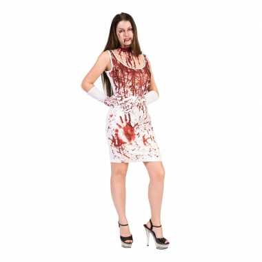 Halloween - bloederige jurk voor dames