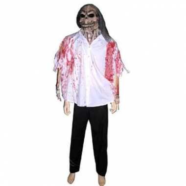 Halloween - halloween blouse met masker