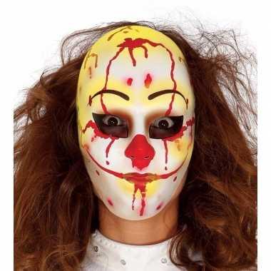 Halloween - horror clown masker