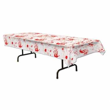 Halloween - horror tafelkleed met bloed