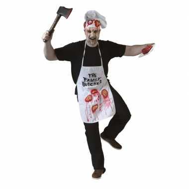 Halloween schort met lichaamsdelen