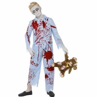 Halloween - zombie pyjama voor jongens