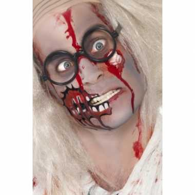 Halloween Zombie Schmink.Halloween Zombie Schmink Set Met Litteken