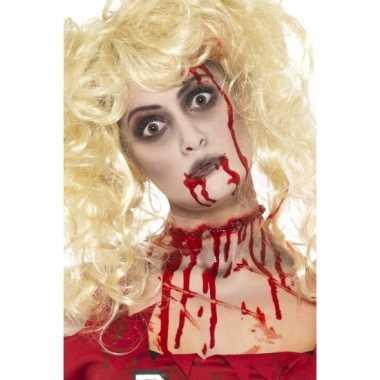Halloween - zombie schminkset