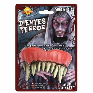 Horror monster gebit/neptanden halloween accessoire