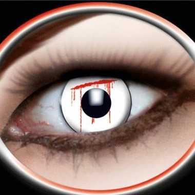 Party lenzen bloedend oog