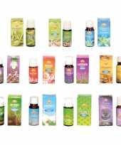 Geur olie n pakket bestaande uit 11 verschillende geuren flesjes van 10 ml