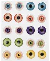 Halloween zelfklevende gekleurde 3d hobby ogen oogjes