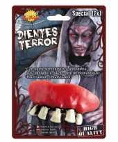 Horror zombie gebit neptanden halloween accessoire