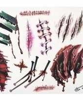 Nep tattoos horror wonden
